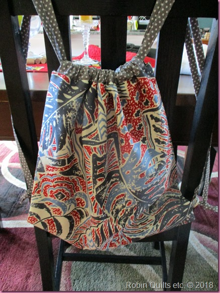 Drawstring Backpack 1