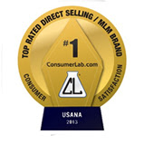 USANA Top Rated Direct Selling Consumer 2013