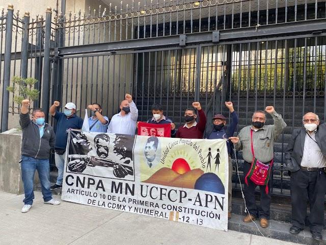 """CNPA MN Y MÁS DE 200 ONGS PIDEN A SEGOB DEJAR """"AMNESIA"""" PARA ATENDER RECOMENDACIONES DE CNDH"""