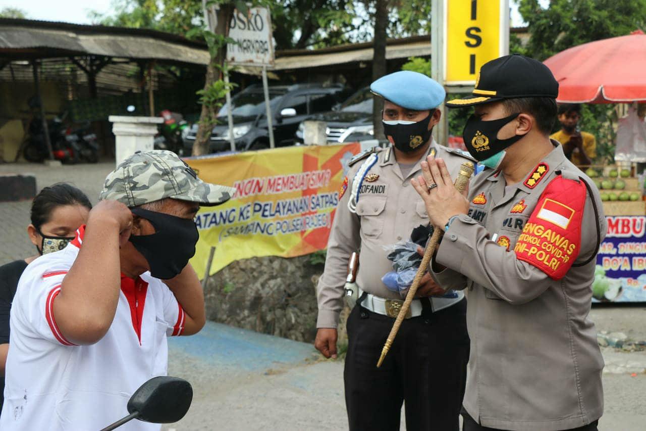 Pimpin Operasi Yustisi, Kapolresta Tangerang Ajak Masyarakat Disiplin dan Gotong-royong Laksanakan Protokol Kesehatan