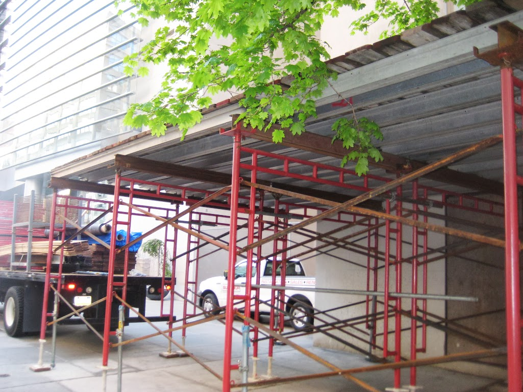 Where To Rent Scaffolding : Double wide frame vs system scaffold when to use