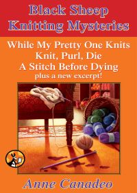 The Black Sheep Knitting Mystery Series By Anne Canadeo