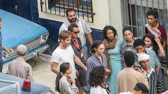 Rodaje de 'Wonder Woman', a su paso por Almería capital, el año pasado.