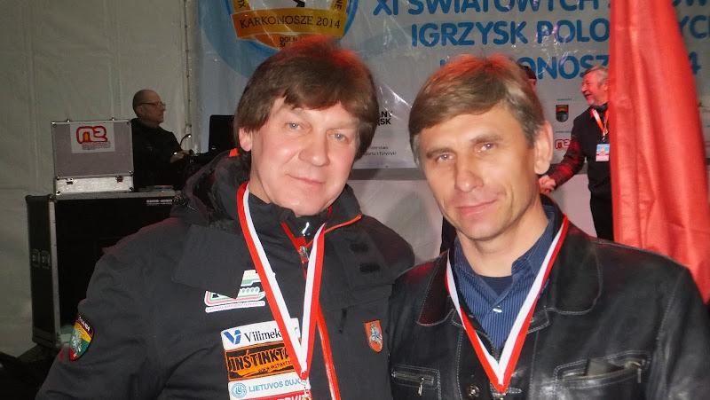 Marian Kaczanowski Litwa i Andrzej Krygowski USA