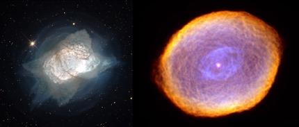 NGC 7027 e IC 418