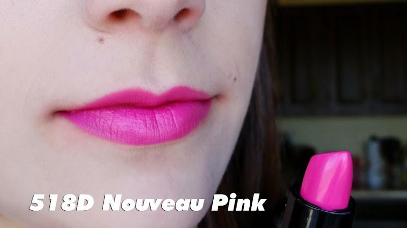 Màu Noveau Pink - 518D - Son Wet n Wild Silk Finish Lipstick