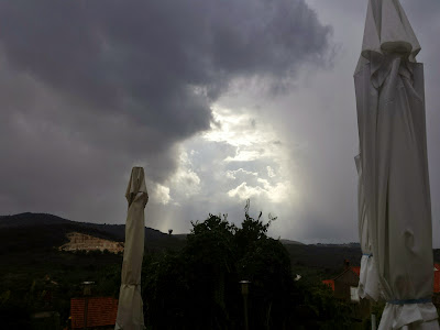 und wieder einmal ein Gewitter