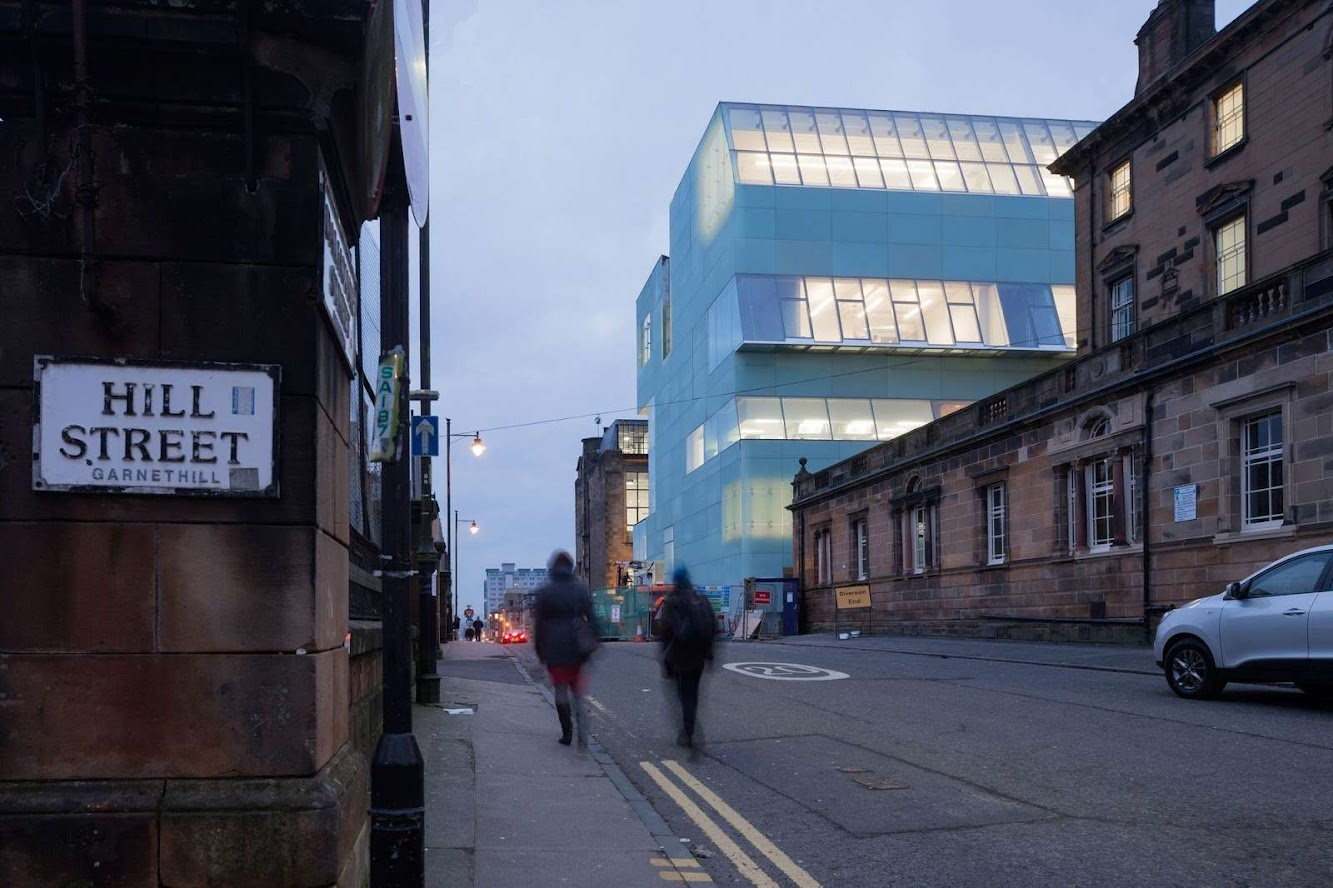 Scotland: REID BUILDING by STEVEN HOLL ARCHITECTS