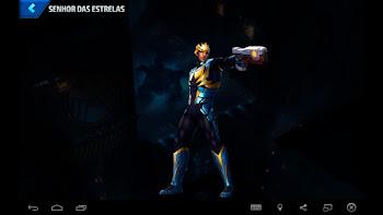 Senhor das Estrelas - Armadura Espacial