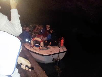 Bootsfahrt in der Seegrotte