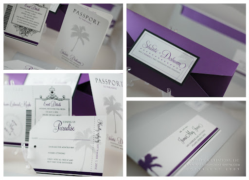 Boarding Pass Wedding Invitations