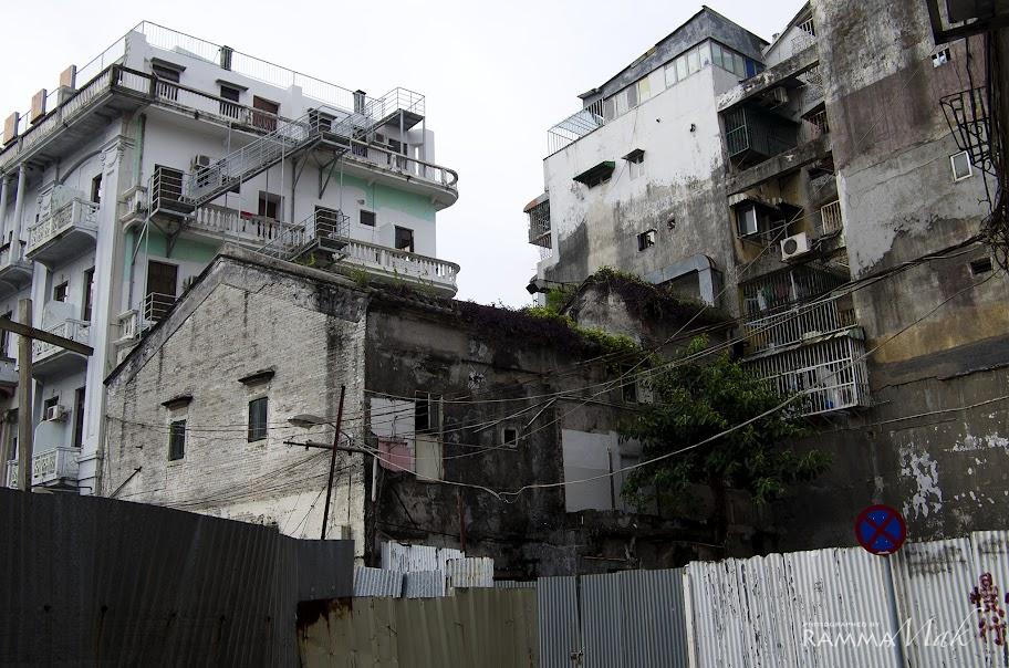 殘破的舊建築物