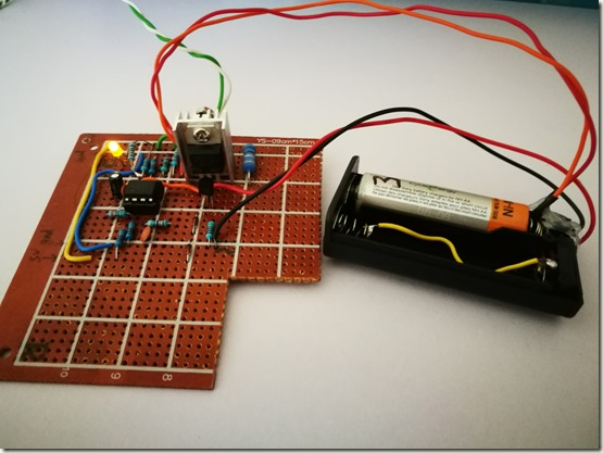 Ni-MH Battery Charger Prototype