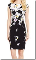 Lauren Ralph Lauren floral print stretch jersey dress