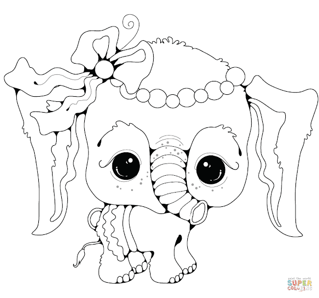 Click The Baby Elephant Girl Coloring Pages To View Printable Version Or  Color It Online Patible With Ipad And Android Tablets