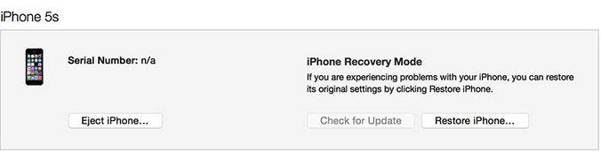 Nhớ giữ phím Shift trong lúc nhấn chọn Restore iPhone/iPad/iPod