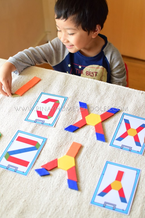 UPPERCASE AND LOWERCASE LETTER PATTERN BLOCKS