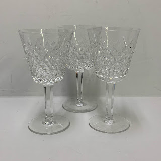 Waterford Sherry Glasses, Set of Three