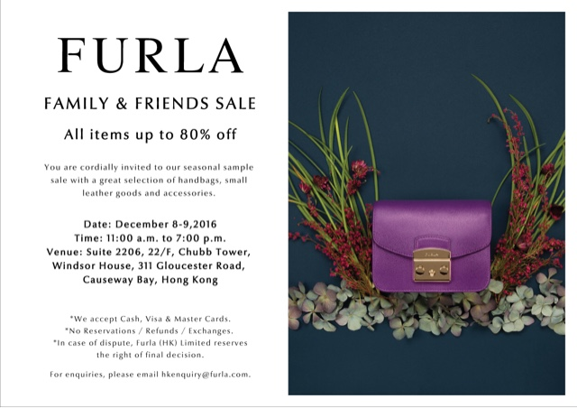 334d3e25d080f7 Hong Kong Fashion Geek  Furla Sale