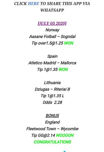 Betika Surebet (Sure Soccer Odds) 1.0 screenshots 2