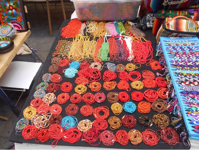 Jewelry at Otavalo Market