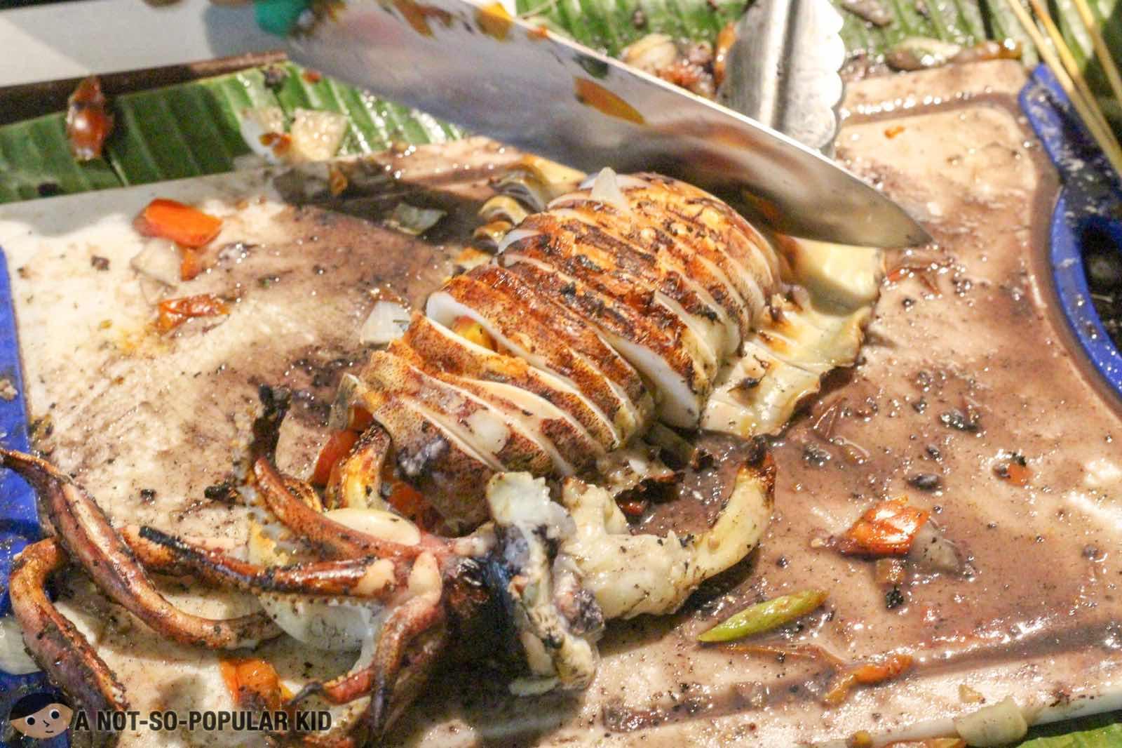 Ningnangan Seafood Paluto in Marilao, Bulacan