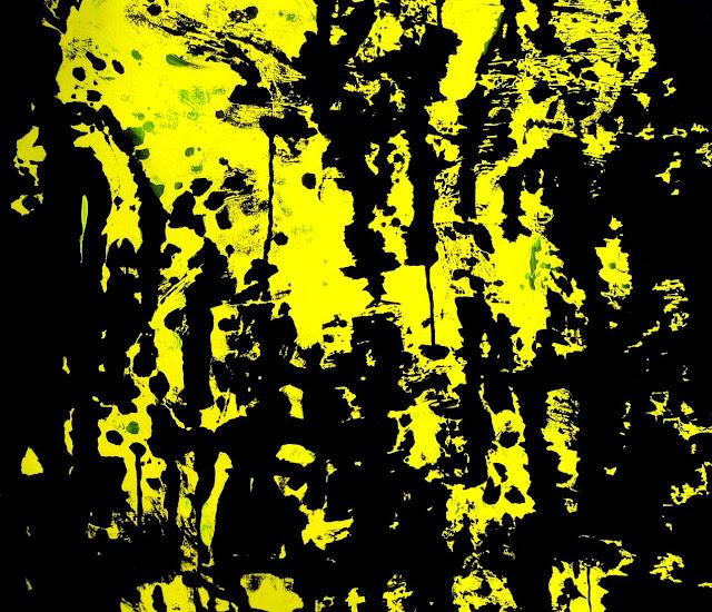FASIM - Pareidolia 7, (Urban impressions) ,acrylic and spray acrylic on canvas, 54x65 cm, 15F, 2015  baja