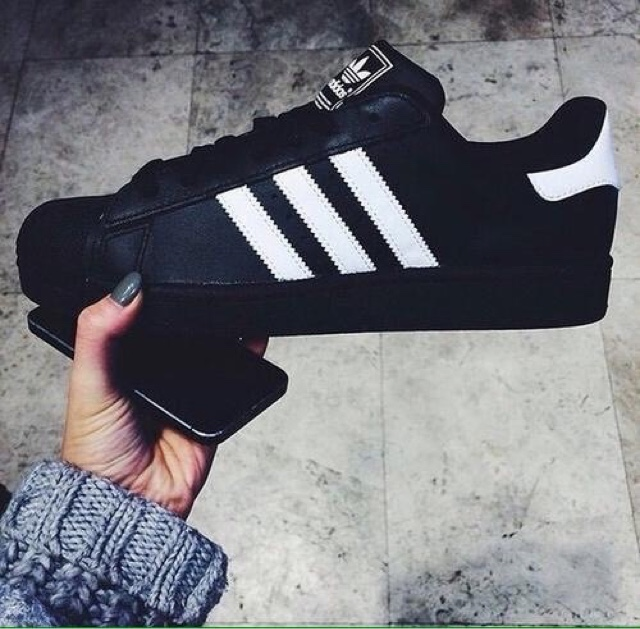 innovative design 2ff28 b466f custom black superstar adidas