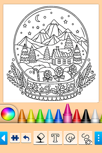 Christmas Coloring 10.4.4 screenshots 7