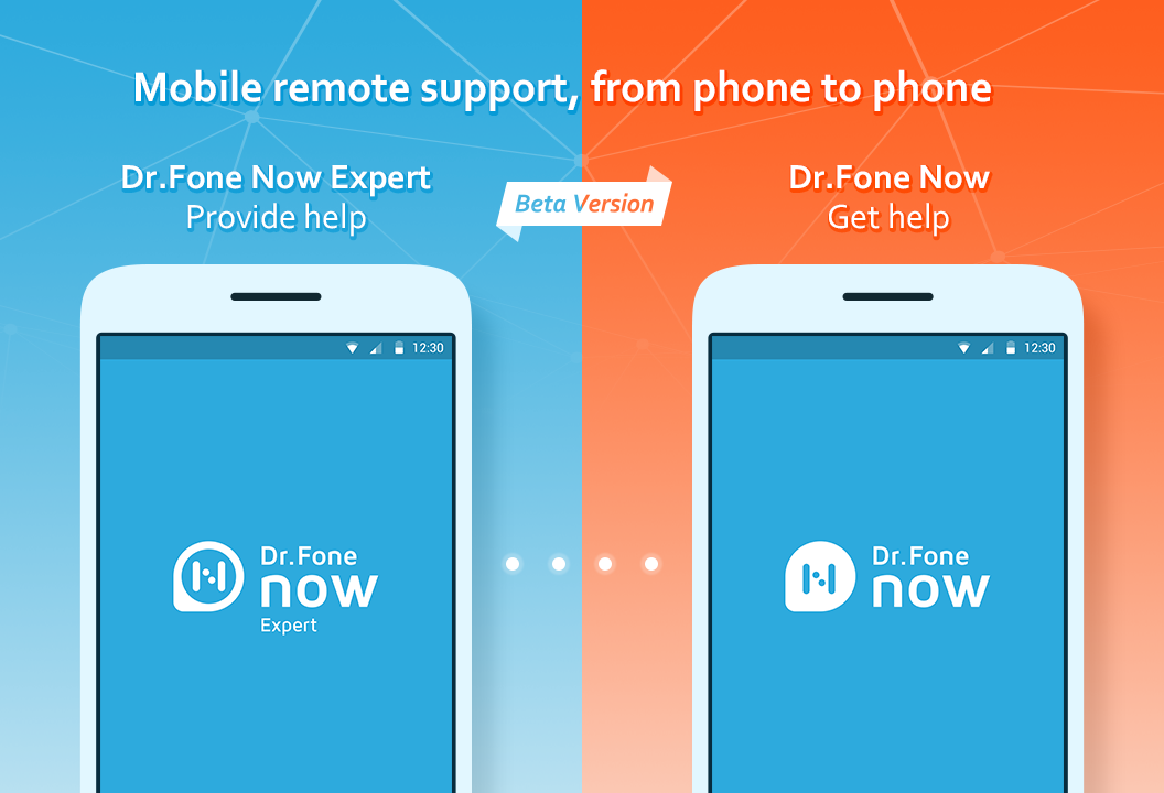 Dr.Fone Now (Remote Support)- screenshot