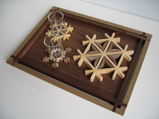 トレー長方形 (L) 神代 tea  tray rectangle (L) jindai
