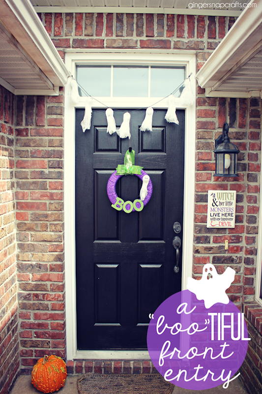 a 'bootiful front entry #makeitfuncrafts