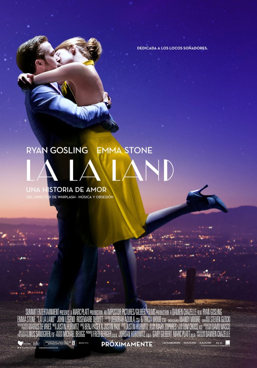 La la land brings life to the dry and pure struggle of Artists in Hollywood by Jitu Das Film reviews