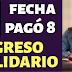 Ingreso Solidario de noviembre se pagará anticipadamente por el tercer día sin IVA