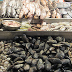 Santiago de Chile - Fischmarkt