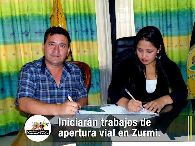 INICIARÁN TRABAJOS DE APERTURA VIAL EN ZURMI