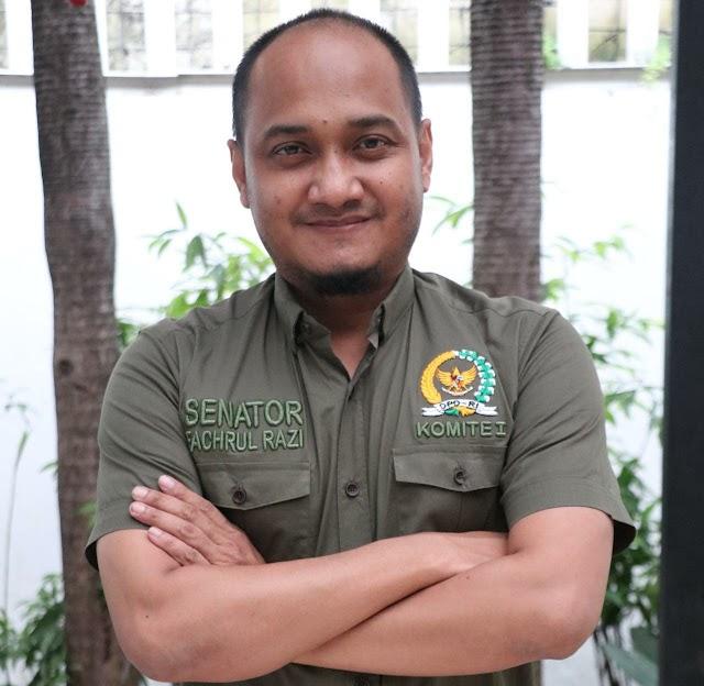 Ketua komite I Fachrul Razi mengapresiasi kinerja KPK tahun 2020