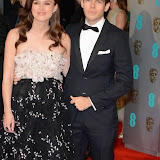 OIC - ENTSIMAGES.COM - Keira Knightley and James Righton at the EE British Academy Film Awards (BAFTAS) in London 8th February 2015 Photo Mobis Photos/OIC 0203 174 1069