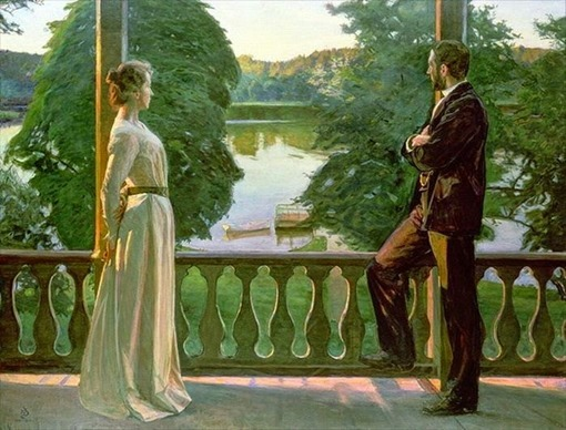 Richard Bergh - Sera d'estate nordica