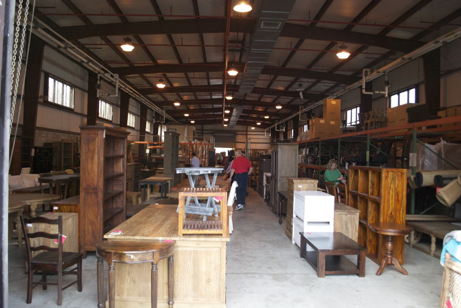 Low country living celadon warehouse for Furniture warehouse