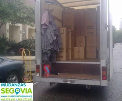 Transportes Maderuelo Segovia