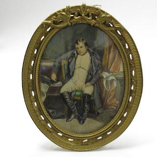 Miniature Painting of Slumped Man