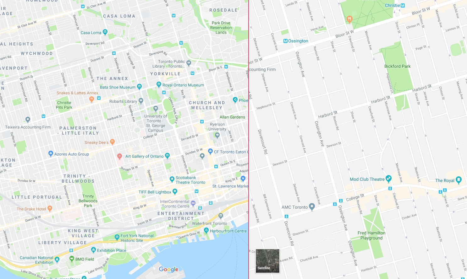 Can We Have An Option To Change Contrast In Google Maps Boh8eia