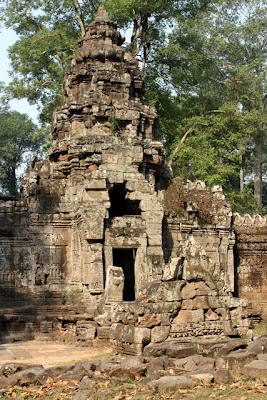 Thommanom temple in Siem Reap Cambodia