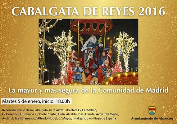 Cabalgata de Reyes 2016 en Alcorcón