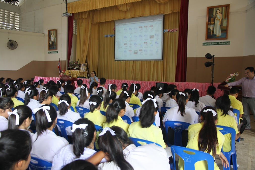 วพบ.นครราชสีมา เข้าร่วมกิจกรรมแนะแนวการศึกษาต่อให้กับนักเรียนโรงเรียนครบุรี