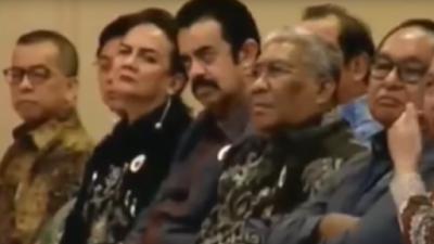 Heboh Riza Chalid Hadiri Kuliah Umum Jokowi di Akademi NasDem