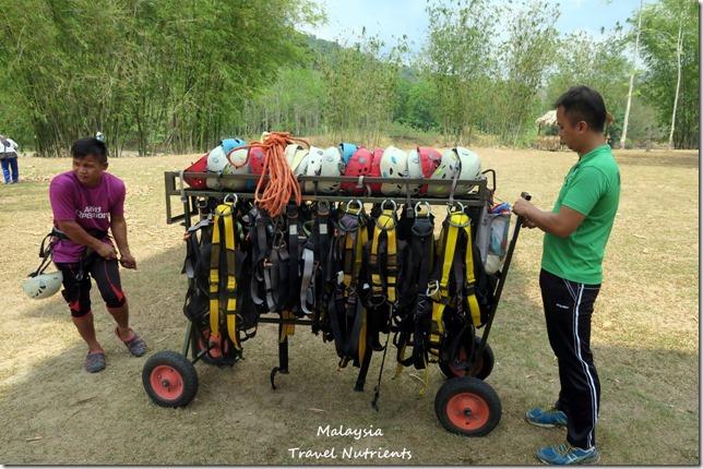 馬來西亞沙巴 九如河泛舟 溜索 (64)