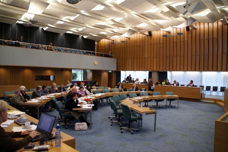 Raadszaal Tilburg-Commissie Maatschappij