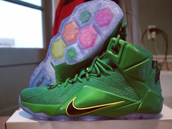 PE Spotlight Nike LeBron 12 Oregon Ducks Away PE